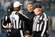 Nov 3, 2013; Seattle, WA, USA; Tampa Bay Buccaneers head coach Greg Schiano speaks with officials during a second quarter timeout against the Seattle Seahawks at CenturyLink Field. Mandatory Credit: Joe Nicholson-USA TODAY Sports