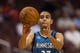 Oct 23, 2013; Philadelphia, PA, USA; Minnesota Timberwolves guard Kevin Martin (23) passes the ball during the first quarter against the Philadelphia 76ers at Wells Fargo Center. The Timberwolves defeated the Sixers 125-102. Mandatory Credit: Howard Smith-USA TODAY Sports
