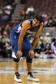 Oct 23, 2013; Philadelphia, PA, USA; Minnesota Timberwolves guard Ricky Rubio (9) during the first quarter against the Philadelphia 76ers at Wells Fargo Center. The Timberwolves defeated the Sixers 125-102. Mandatory Credit: Howard Smith-USA TODAY Sports