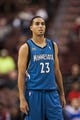 Oct 23, 2013; Philadelphia, PA, USA; Minnesota Timberwolves guard Kevin Martin (23) during the second quarter against the Philadelphia 76ers at Wells Fargo Center. The Timberwolves defeated the Sixers 125-102. Mandatory Credit: Howard Smith-USA TODAY Sports
