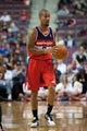 Oct 22, 2013; Auburn Hills, MI, USA; Washington Wizards point guard Eric Maynor (6) during the second quarter against the Detroit Pistons at The Palace of Auburn Hills. Mandatory Credit: Tim Fuller-USA TODAY Sports