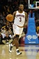 Nov 4, 2013; Cleveland, OH, USA; Cleveland Cavaliers shooting guard Dion Waiters (3) during a game against the Minnesota Timberwolves at Quicken Loans Arena. Cleveland won 93-92. Mandatory Credit: David Richard-USA TODAY Sports