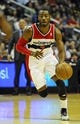 Nov 8, 2013; Washington, DC, USA; Washington Wizards point guard John Wall (2) dribbles the ball against the Brooklyn Nets during the first half at the Verizon Center. Mandatory Credit: Brad Mills-USA TODAY Sports