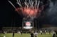 Nov 9, 2013; College Station, TX, USA; The Texas A&M Aggies celebrates the 700th program win with fireworks after the second half against the Mississippi State Bulldogs at Kyle Field. Texas A&M won 51-41. Mandatory Credit: Thomas Campbell-USA TODAY Sports