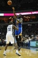 Nov 9, 2013; Memphis, TN, USA; Golden State Warriors small forward Draymond Green (23) passes the ball over Memphis Grizzlies small forward Quincy Pondexter (20) during the fourth quarter at FedExForum. The Grizzlies won 108-90.  Mandatory Credit: Justin Ford-USA TODAY Sports