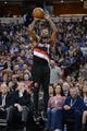 November 9, 2013; Sacramento, CA, USA; Portland Trail Blazers point guard Mo Williams (25) shoots the basketball against the Sacramento Kings during the second quarter at Sleep Train Arena. Mandatory Credit: Kyle Terada-USA TODAY Sports