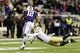 Nov 9, 2013; Seattle, WA, USA; Colorado Buffaloes defensive back Parker Orms (13) dives and misses Washington Huskies running back Dwayne Washington (12) during the 2nd half at Husky Stadium. Washington defeated Colorado 59-7. Mandatory Credit: Steven Bisig-USA TODAY Sports