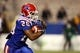 Nov 9, 2013; Ruston, LA, USA; Louisiana Tech Bulldogs running back Kenneth Dixon (28) runs with the football against the Southern Miss Golden Eagles during the second half at Joe Aillet Stadium. Mandatory Credit: Chuck Cook-USA TODAY Sports