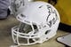 Nov 9, 2013; Laramie, WY, USA; A general view of the Wyoming Cowboys helmet during game against the Fresno State Bulldogs at War Memorial Stadium. Mandatory Credit: Troy Babbitt-USA TODAY Sports