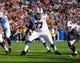 Nov 3, 2013; Orchard Park, NY, USA; Buffalo Bills tackle Cordy Glenn (77) against the Kansas City Chiefs at Ralph Wilson Stadium. Mandatory Credit: Timothy T. Ludwig-USA TODAY Sports