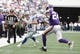 Nov 3, 2013; Arlington, TX, USA; Dallas Cowboys wide receiver Cole Beasley (11) runs the ball against Minnesota Vikings cornerback A.J. Jefferson (24) during the game at AT&T Stadium. Dallas beat Minnesota 27-23. Mandatory Credit: Tim Heitman-USA TODAY Sports