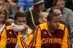 Nov 13, 2013; Minneapolis, MN, USA; Cleveland Cavaliers small forward Alonzo Gee (33) and shooting guard C.J. Miles (0) on the bench during their loss to Minnesota Timberwolves at Target Center. The Minnesota Timberwolves win 124-95. Mandatory Credit: Brad Rempel-USA TODAY Sports.