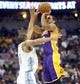 Nov 13, 2013; Denver, CO, USA;  Los Angeles Lakers guard Xavier Henry (7) shoots the ball during the second half agains the Denver Nuggets at Pepsi Center.  The Nuggets won 111-99.  Mandatory Credit: Chris Humphreys-USA TODAY Sports