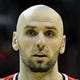 Nov 8, 2013; Washington, DC, USA; Washington Wizards center Marcin Gortat (4) holds the ball against the Brooklyn Nets during the first half at the Verizon Center. Mandatory Credit: Brad Mills-USA TODAY Sports
