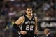 Nov 11, 2013; Philadelphia, PA, USA; San Antonio Spurs center Tiago Splitter (22) during the first quarter against the Philadelphia 76ers at Wells Fargo Center. The Spurs defeated the Sixers 109-85. Mandatory Credit: Howard Smith-USA TODAY Sports