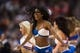 Nov 11, 2013; Philadelphia, PA, USA; Philadelphia 76ers dream team dancers perform during the third quarter against the San Antonio Spurs at Wells Fargo Center. The Spurs defeated the Sixers 109-85. Mandatory Credit: Howard Smith-USA TODAY Sports