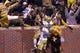 Nov 14, 2013; Clemson, SC, USA; Clemson Tigers running back Roderick McDowell (25) celebrates after scoring a touchdown against the Clemson Tigers during the second quarter at Clemson Memorial Stadium. Clemson won 55-24. Mandatory Credit: Joshua S. Kelly-USA TODAY Sports