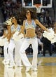 Nov 15, 2013; Denver, CO, USA; Denver Nuggets dancers perform in the fourth quarter against the Minnesota Timberwolves at the Pepsi Center. The Nuggets won 117-113. Mandatory Credit: Isaiah J. Downing-USA TODAY Sports