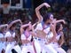 Nov 11, 2013; Los Angeles, CA, USA; Los Angeles Clippers spirit cheerleaders perform during the game against the Minnesota Timberwolves at Staples Center. Mandatory Credit: Kirby Lee-USA TODAY Sports
