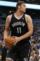 Nov 3, 2013; Orlando, FL, USA; Brooklyn Nets center Brook Lopez (11) against the Orlando Magic during the second half at Amway Center. Mandatory Credit: Kim Klement-USA TODAY Sports