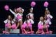 Oct 13, 2013; Seattle, WA, USA; Seattle Seahawks sea gals cheerleaders perform with pink pom poms and boots to recognize breast cancer awareness month during the game against the Tennessee Titans at CenturyLink Field. Mandatory Credit: Kirby Lee-USA TODAY Sports