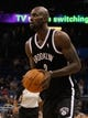 Nov 3, 2013; Orlando, FL, USA; Brooklyn Nets power forward Kevin Garnett (2) against the Orlando Magic during the second quarter at Amway Center. Mandatory Credit: Kim Klement-USA TODAY Sports