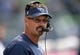 Oct 13, 2013; Seattle, WA, USA; Tennessee Titans senior defense assistant coach Gregg Williams during the game against the Seattle Seahawks at CenturyLink Field. The Seahawks defeated the Titans 20-13. Mandatory Credit: Kirby Lee-USA TODAY Sports