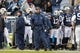 Nov 16, 2013; Provo, UT, USA; Brigham Young Cougars head coach Bronco Mendenhall watches his team from the sideline in the game against the Idaho State Bengals in the first quarter at Lavell Edwards Stadium. Mandatory Credit: Chris Nicoll-USA TODAY Sports