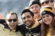 Nov 16, 2013; Philadelphia, PA, USA; UCF Knights fans pose for a photo during the first quarter against the Temple Owls at Lincoln Financial Field. UCF defeated Temple 39-36. Mandatory Credit: Howard Smith-USA TODAY Sports