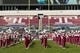 Nov 16, 2013; Philadelphia, PA, USA; The Temple Owls marching band performs prior to the game against the UCF Knights at Lincoln Financial Field. UCF defeated Temple 39-36. Mandatory Credit: Howard Smith-USA TODAY Sports