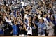 Nov 16, 2013; Durham, NC, USA; Duke Blue Devils fans celebrate after a touchdown against the Miami Hurricanes at Wallace Wade Stadium. Mandatory Credit: Mark Dolejs-USA TODAY Sports