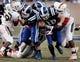 Nov 16, 2013; Durham, NC, USA; Miami Hurricanes defensive lineman Justin Renfrow (78) tackles Duke Blue Devils quarterback Brandon Connette (18) at Wallace Wade Stadium. Mandatory Credit: Mark Dolejs-USA TODAY Sports