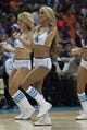 Nov 16, 2013; Charlotte, NC, USA; The Charlotte Bobcats dancers perform during a timeout in the second half against the Miami Heat at Time Warner Cable Arena. Miami defeated Charlotte 97-81. Mandatory Credit: Jeremy Brevard-USA TODAY Sports