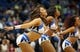 Nov 16, 2013; Minneapolis, MN, USA; Minnesota Timberwolves dancers perform during the first half against the Boston Celtics at Target Center. The Timberwolves won 106-88. Mandatory Credit: Jesse Johnson-USA TODAY Sports