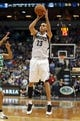 Nov 16, 2013; Minneapolis, MN, USA; Minnesota Timberwolves shooting guard Kevin Martin (23) goes up for a shot in the second half against the Boston Celtics at Target Center. The TImberwolves won 106-88. Mandatory Credit: Jesse Johnson-USA TODAY Sports