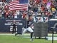 Nov 17, 2013; Houston, TX, USA; Houston Texans defensive end J.J. Watt (99) runs onto the field before a game against the Oakland Raiders at Reliant Stadium. Mandatory Credit: Troy Taormina-USA TODAY Sports