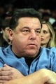 Nov 20, 2013; New York, NY, USA; Television actor Steve Schirripa watches a game between the New York Knicks and the Indiana Pacers at Madison Square Garden. The Pacers defeated the Knicks 103-96 in overtime. Mandatory Credit: Brad Penner-USA TODAY Sports