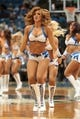 Nov 13, 2013; Minneapolis, MN, USA; Minnesota Timberwolves dancer performs during a timeout in the third quarter against the Cleveland Cavaliers at Target Center. The Minnesota Timberwolves win 124-95. Mandatory Credit: Brad Rempel-USA TODAY Sports.