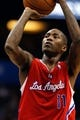 Nov 6, 2013; Orlando, FL, USA; Los Angeles Clippers shooting guard Jamal Crawford (11) against the Orlando Magic during the second quarter at Amway Center. Mandatory Credit: Kim Klement-USA TODAY Sports