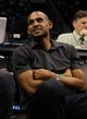 Nov 6, 2013; Orlando, FL, USA; American former basketball player Grant Hill watches the game between the Los Angeles Clippers and the Orlando Magic during the second quarter at Amway Center. Mandatory Credit: Kim Klement-USA TODAY Sports