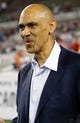 Nov 11, 2013; Tampa, FL, USA; Former professional American football coach Tony Dungy prior to the game between the Tampa Bay Buccaneers and against the Miami Dolphins at Raymond James Stadium. Mandatory Credit: Kim Klement-USA TODAY Sports