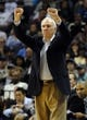 Nov 22, 2013; Memphis, TN, USA; San Antonio Spurs head coach Gregg Popovich calls a play during the game against the Memphis Grizzlies during the fourth quarter at FedExForum. San Antonio Spurs beat the Memphis Grizzlies 102-86. Mandatory Credit: Justin Ford-USA TODAY Sports