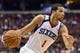 Nov 20, 2013; Philadelphia, PA, USA; Philadelphia 76ers guard Michael Carter-Williams (1) during the fourth quarter against the Toronto Raptors at Wells Fargo Center. The Raptors defeated the Sixers 108-98. Mandatory Credit: Howard Smith-USA TODAY Sports