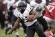 Nov 23, 2013; Houston, TX, USA; Cincinnati Bearcats running back Hosey Williams (23) rushes during the third quarter against the Houston Cougars at BBVA Compass Stadium. Mandatory Credit: Troy Taormina-USA TODAY Sports
