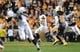 Nov 23, 2013; Knoxville, TN, USA; Vanderbilt Commodores quarterback Austyn Carta-Samuels (6) looks to pass the ball against the Tennessee Volunteers during the first quarter against the Tennessee Volunteers at Neyland Stadium. Mandatory Credit: Randy Sartin-USA TODAY Sports
