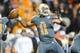 Nov 23, 2013; Knoxville, TN, USA; Tennessee Volunteers quarterback Joshua Dobbs (11) passes the ball against the Vanderbilt Commodores during the second quarter at Neyland Stadium. Mandatory Credit: Randy Sartin-USA TODAY Sports