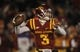 Nov 23, 2013; Ames, IA, USA; Iowa State Cyclones quarterback Grant Rohach (3) throws against the Kansas Jayhawks in the first quarter at Jack Trice Stadium. Mandatory Credit: Bruce Thorson-USA TODAY Sports