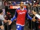 Nov 24, 2013; Los Angeles, CA, USA;  Los Angeles Clippers center Ryan Hollins (15) takes the court for the game against the Chicago Bulls at Staples Center. Clippers won 121-82. Mandatory Credit: Jayne Kamin-Oncea-USA TODAY Sports