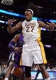 Nov 24, 2013; Los Angeles, CA, USA;  Los Angeles Lakers center Jordan Hill (27) during the game against the Sacramento Kings at Staples Center. Lakers won 100-86. Mandatory Credit: Jayne Kamin-Oncea-USA TODAY Sports