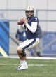 Nov 16, 2013; Pittsburgh, PA, USA; Pittsburgh Panthers quarterback Tom Savage (7) looks to pass against the North Carolina Tar Heels during the first quarter at Heinz Field. North Carolina won 34-27. Mandatory Credit: Charles LeClaire-USA TODAY Sports